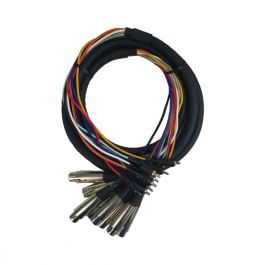 """Cable Up CU//AX101 3/' 1//4/"""" TRS Male to Dual RCA Male Audio Cable"""